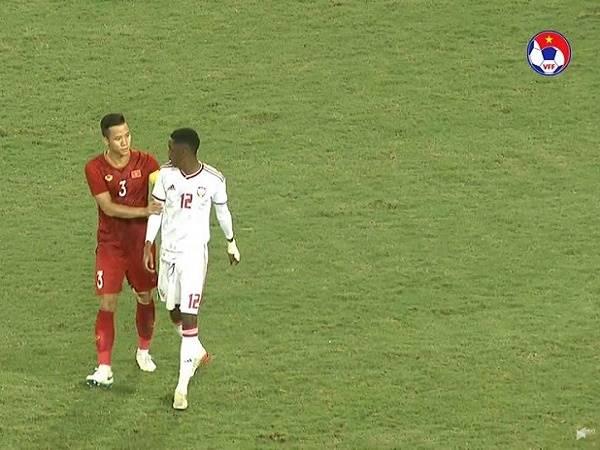 NHM khen ngợi hành động fair-play của Quế Ngọc Hải ở trận thắng UAE