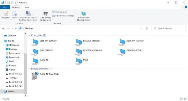 Cách chia sẻ dữ liệu qua mạng LAN trên Windows 7/8/10 Bước 6