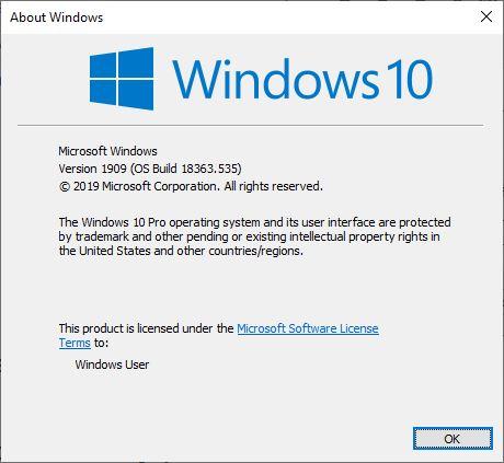 Sử dụng lệnh kiểm tra phiên bản Windows 10 Bước 2