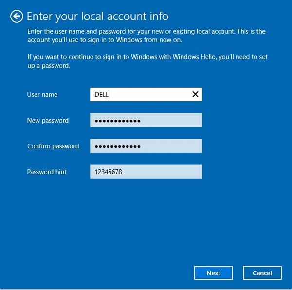 Hướng dẫn thoát tài khoản Microsoft trên Win 10bước 4