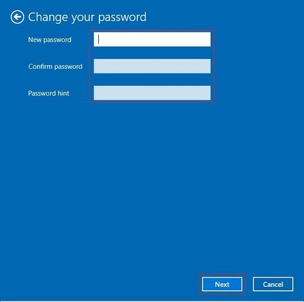 Xóa bỏ mật khẩu đăng nhập Win 10 bước 4