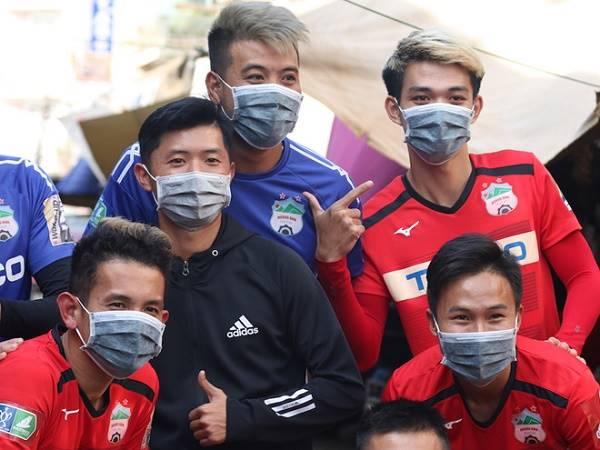 Bóng đá Việt Nam 28/3: CLB HAGL chấp hành nghiêm túc việc khai báo y tế