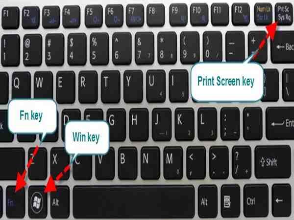Các cách chụp màn hình laptop phổ biến nhất