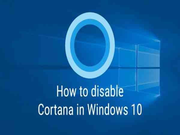 Làm thế nào để tắt cortana trên Windows 10?