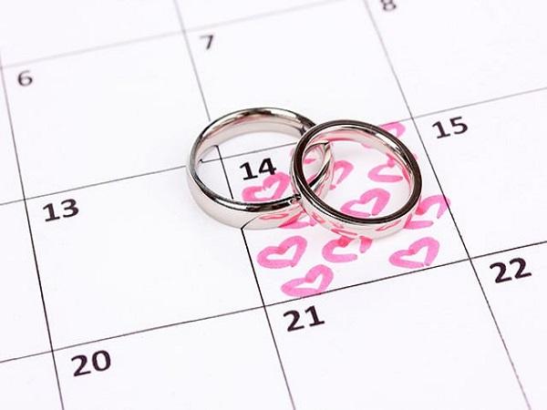 Xem ngày cưới tháng 8 năm 2020 có ngày nào đẹp?