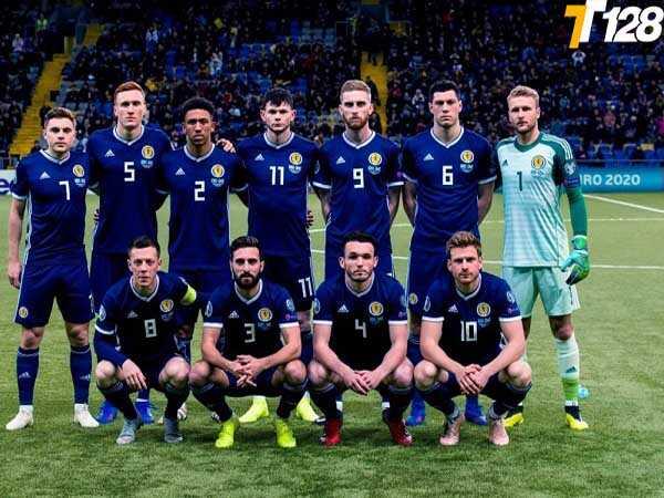 Các cầu thủ trong danh sách đội hình ra sân của Scotland tại Euro 2021