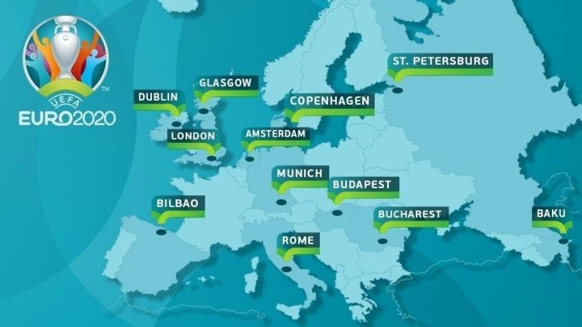 Trận chung kết Euro 2021 sẽ được tổ chức ở đâu?