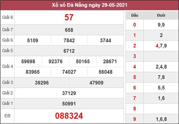 Dự đoán XSDNG 2/6/2021 chốt loto VIP Đà Nẵng thứ 4